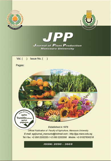 Journal of Plant Production